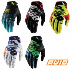 100% Mens Ridefit Gloves