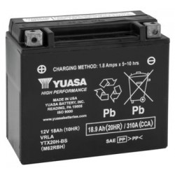 Yuasa YTX5L-BS Maintenance Free Battery