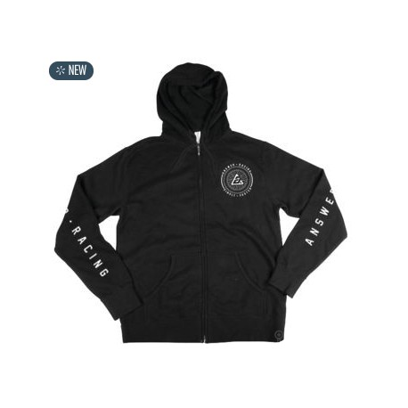 SIMPLY FASTER HOODY BLK MD