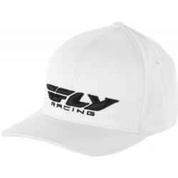 FLY RACING PODIUM HAT WHITE SM/MD