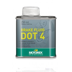 Brake Fluid Dot 4 250ml Motorex