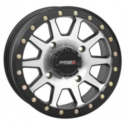 System 3 SB-3 Beadlock Wheel 14x10 5+5 4/156 Machined