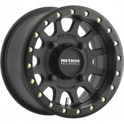 Method 401 Beadlock Wheels 14x7 4+3 4/136 Matte Black