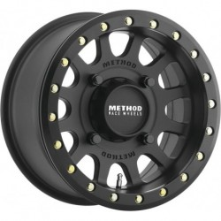 Method 401 Beadlock Wheels 15x7 4+3 4/136 Matte Black