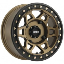 Method 405 Beadlock Wheels 15x7 4+3 4/156 Bronze/Matte Black
