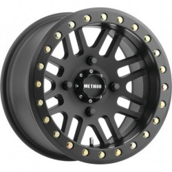 Method 406 Beadlock Wheels 14x8 4+4 4/156 Matte Black