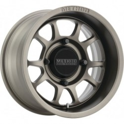 Method 409 Bead Grip Wheels 15x7 5+2 4/156 Steel Grey