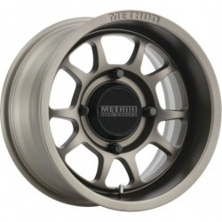 Method 409 Bead Grip Wheels 15x7 4+3 4/156 Steel Grey
