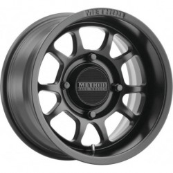 Method 409 Bead Grip Wheels 15x10 5+5 4/136 Matte Black