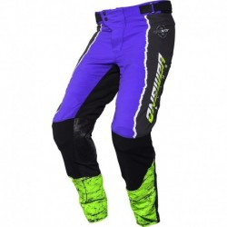 Answer Trinity ProGlo Pants Purple/Hyper Acid/Black 28