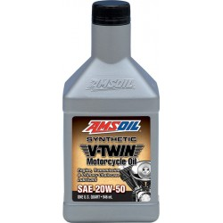 20W-50 Synthetic V-Twin Motorcycle Oil Amsoil
