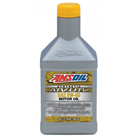 5W-50 Synthetic ATV/UTV Engine Oil Amsoil