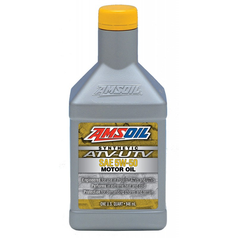 5w 50 synthetic atv utv engine oil amsoil amsoil synthetic for What s the difference between 5w20 and 5w30 motor oil